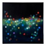 Light  Rain #11, Standing on the Edge of Forever 50 x 50cm oil on canvas 2016 $800